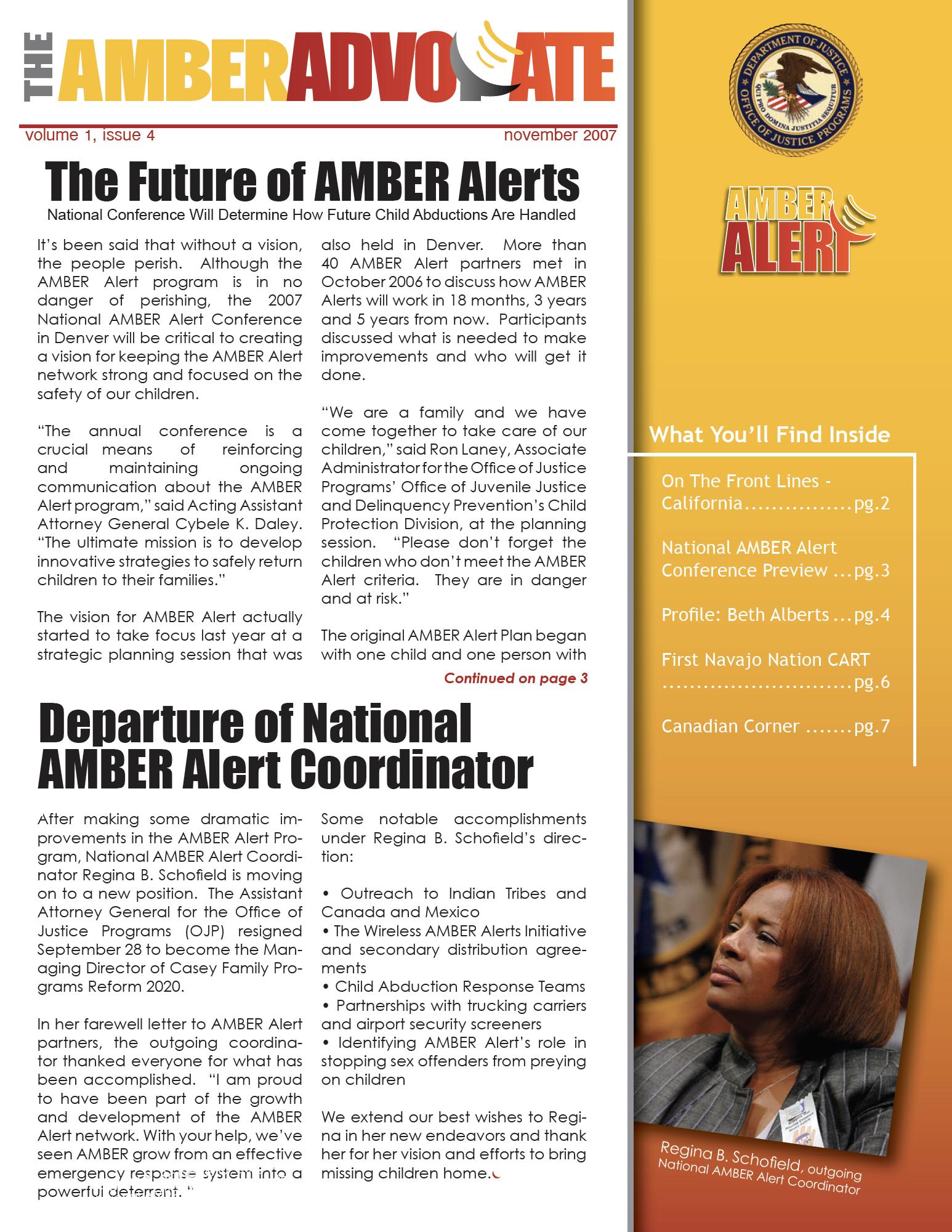AMBER Advocate 4 cover