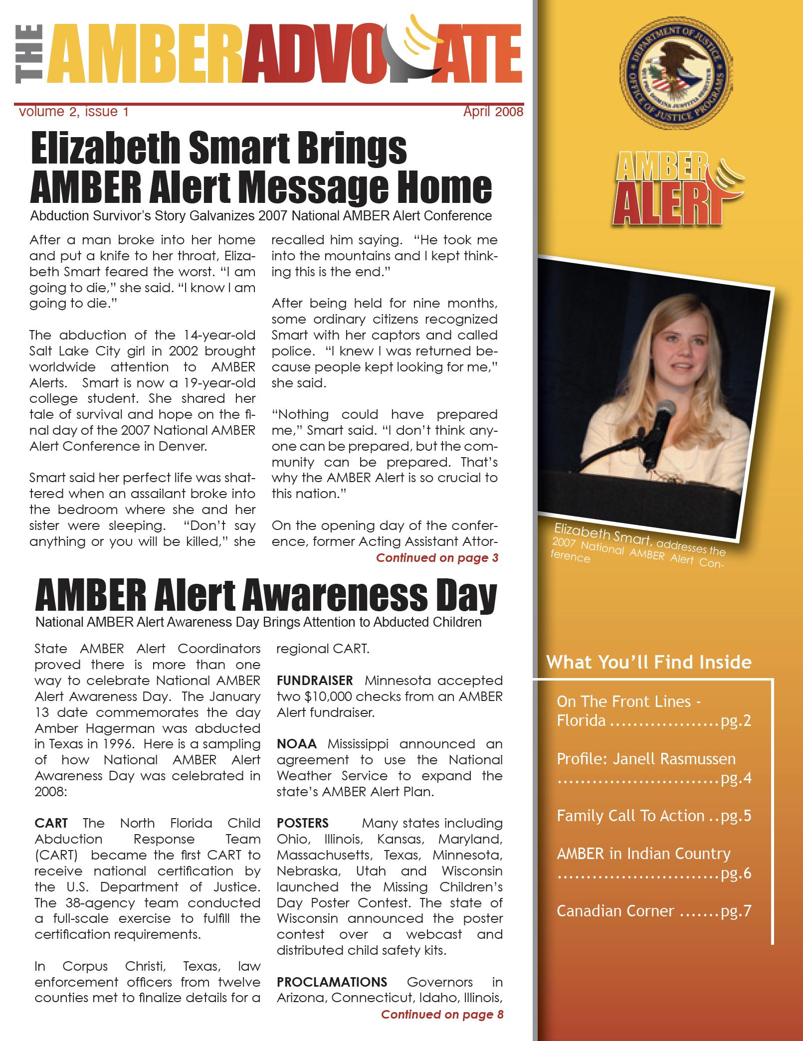 AMBER Advocate 5 cover