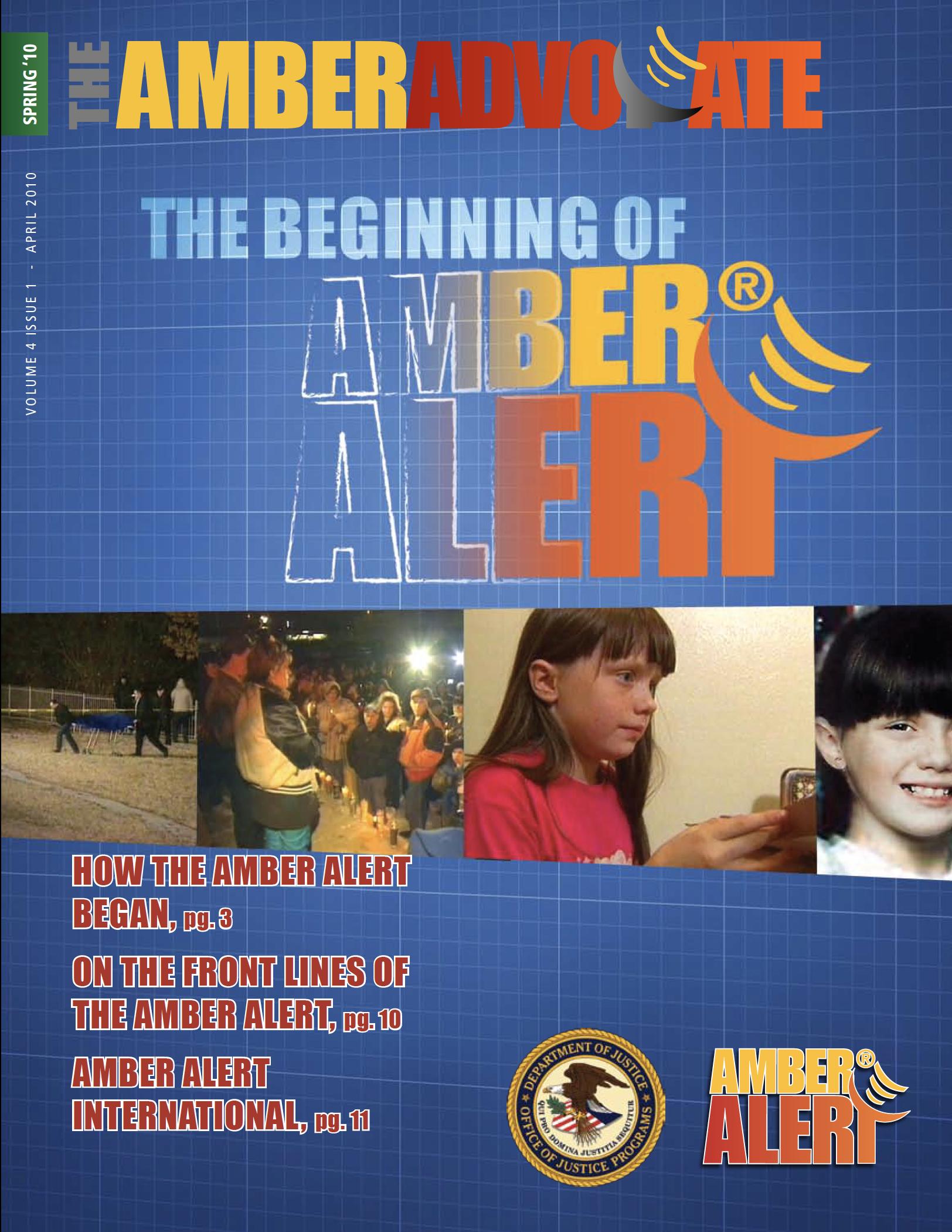 AMBER Advocate 13 cover