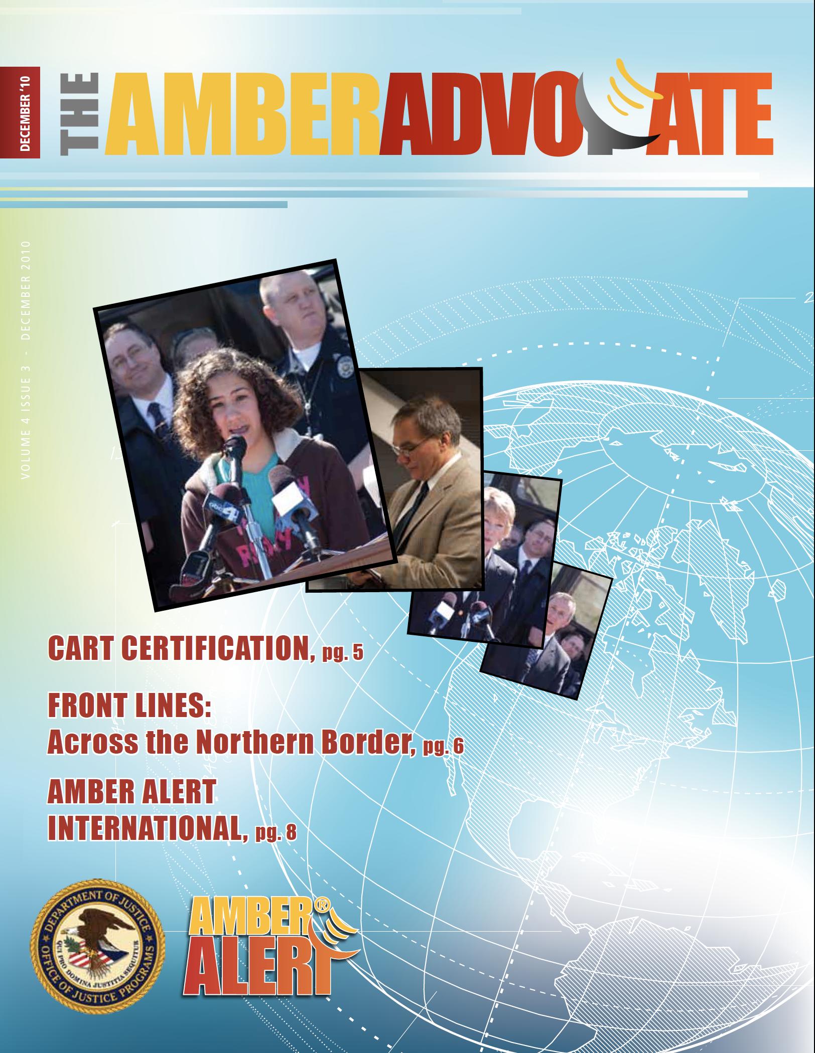 AMBER Advocate 15 cover