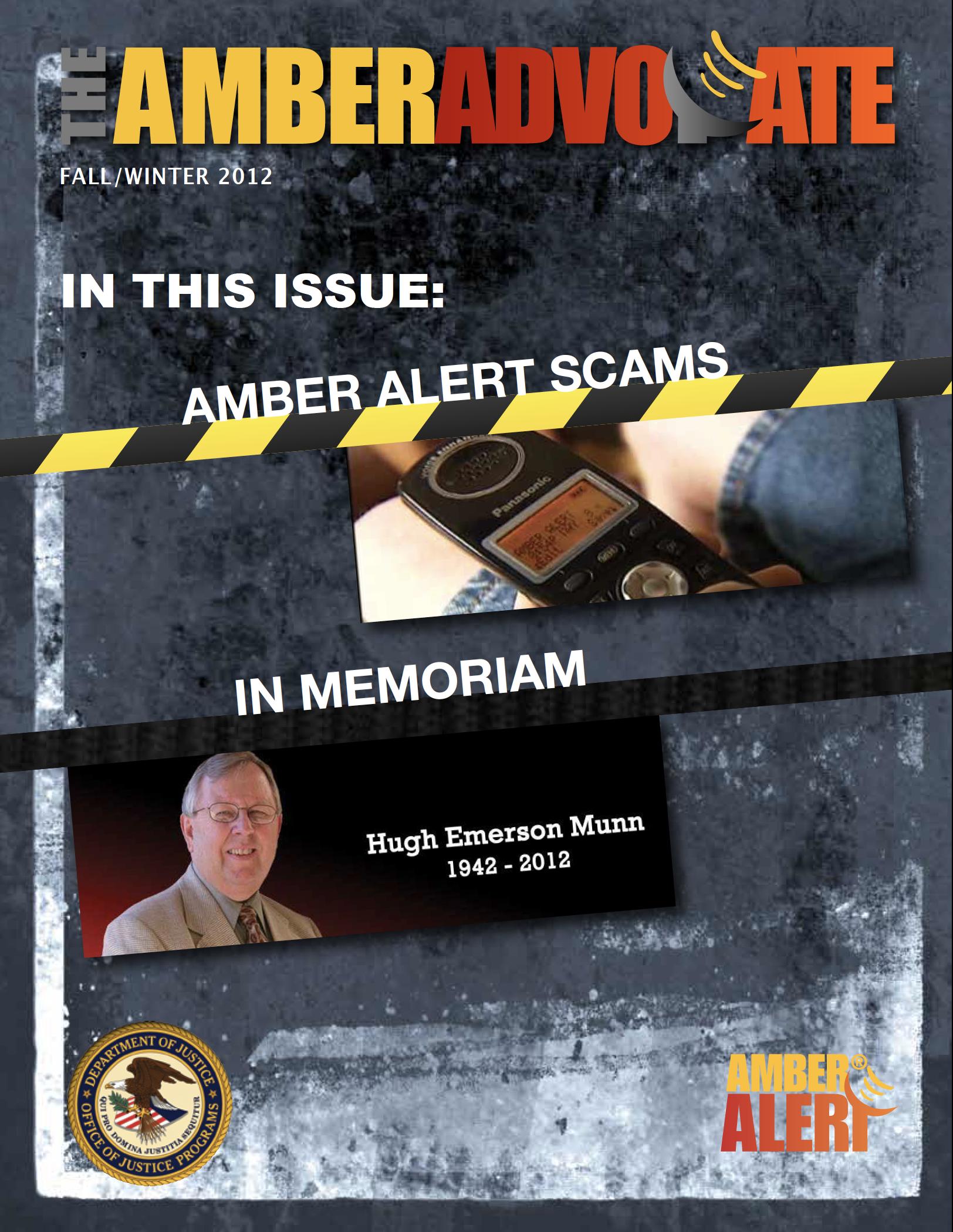 AMBER Advocate 20 cover