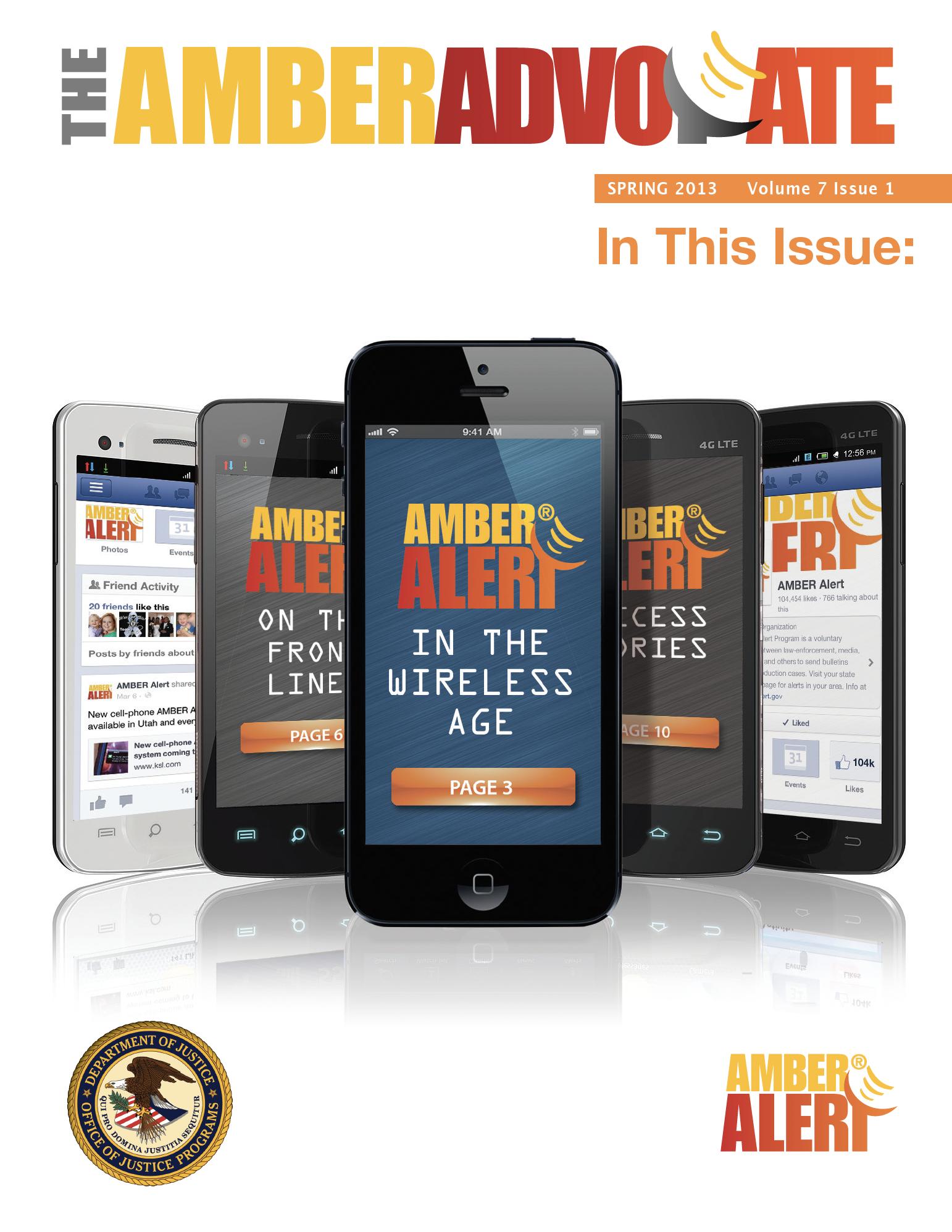 AMBER Advocate 21 cover
