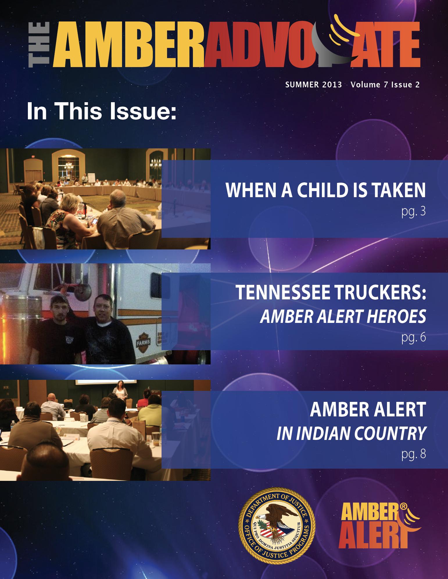 AMBER Advocate 22 cover
