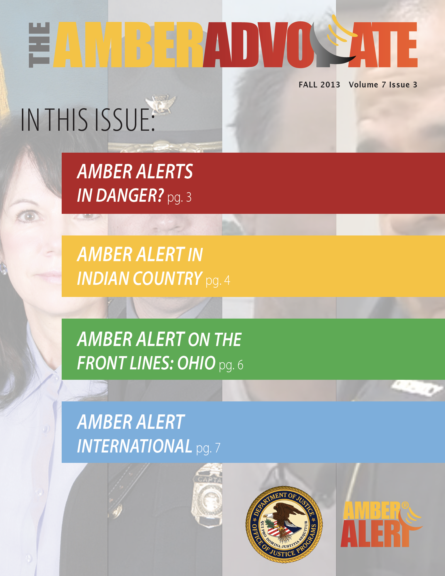AMBER Advocate 23 cover
