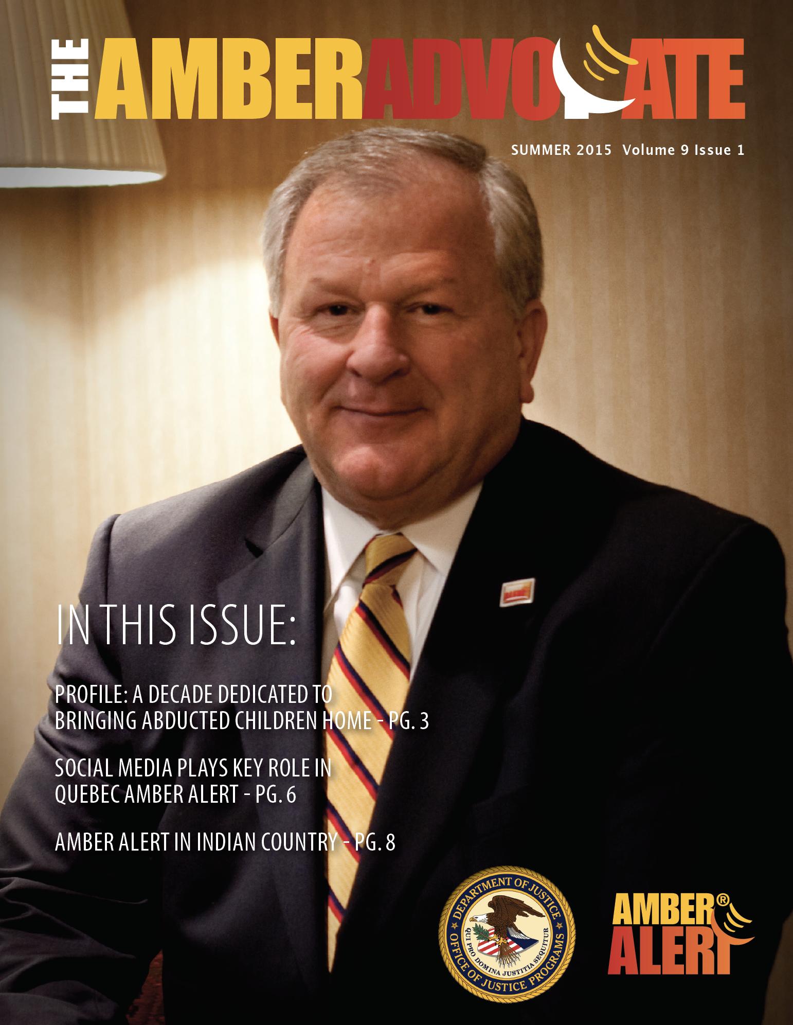 AMBER Advocate 25 cover