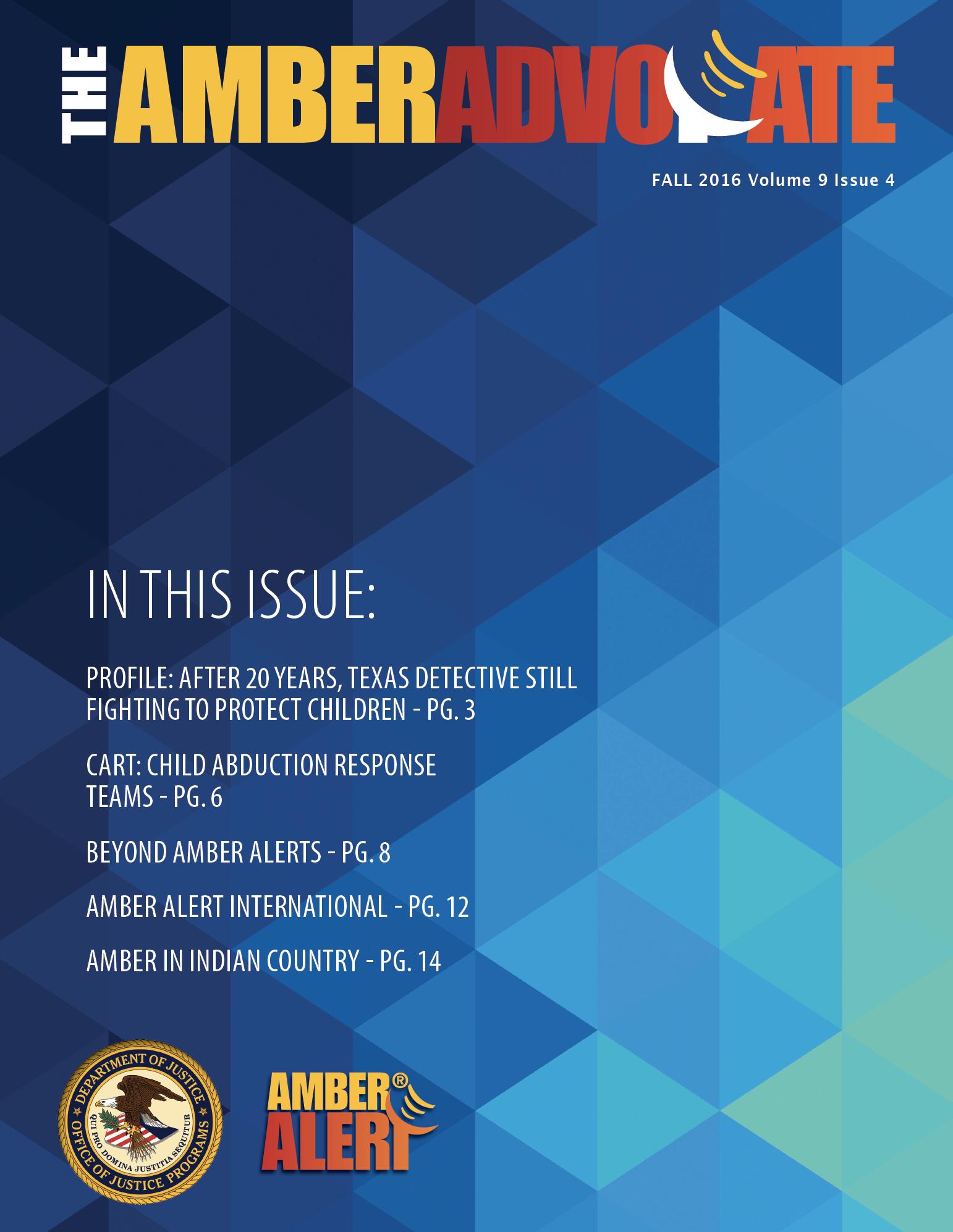 AMBER Advocate 28 cover