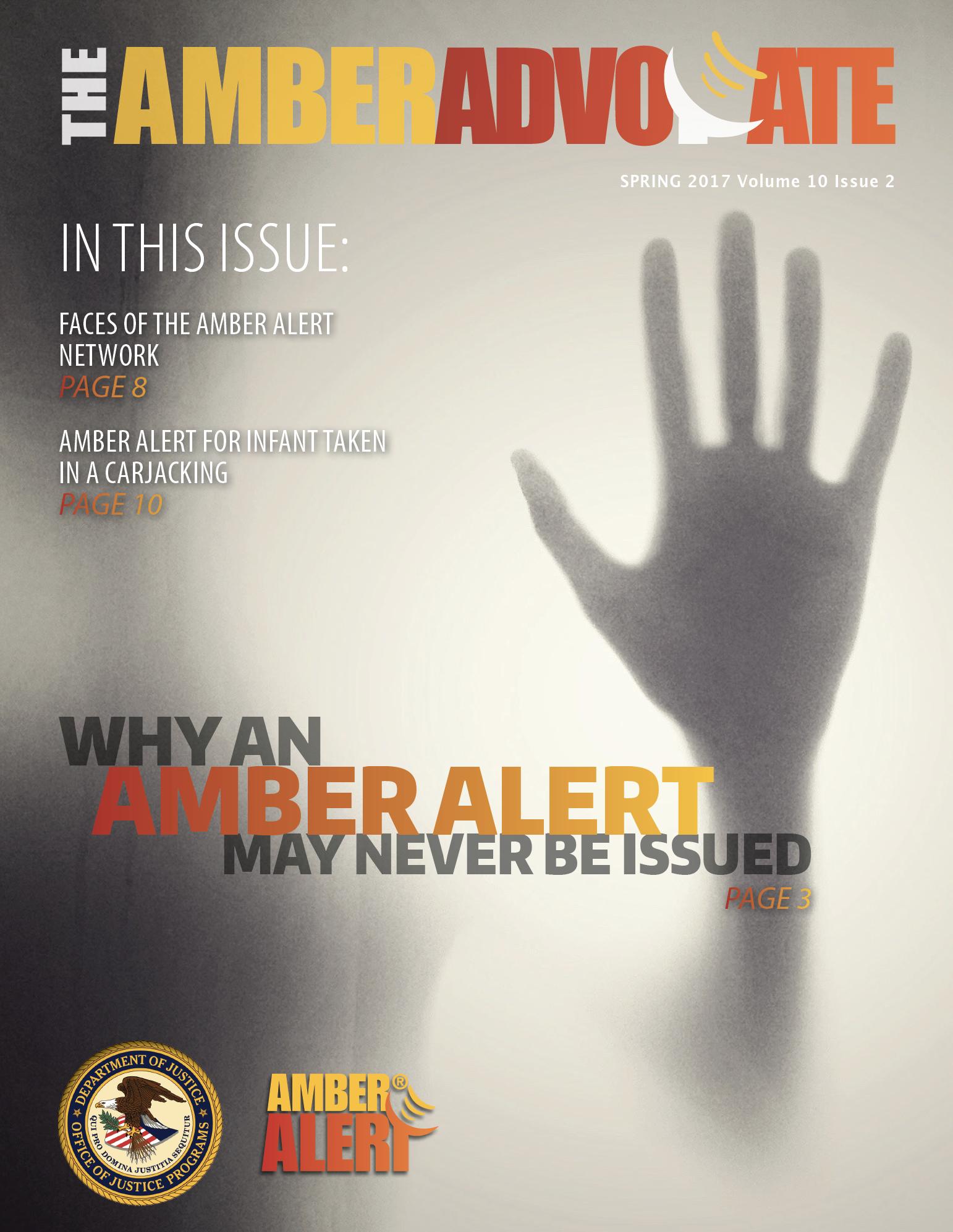 AMBER Advocate 30 cover