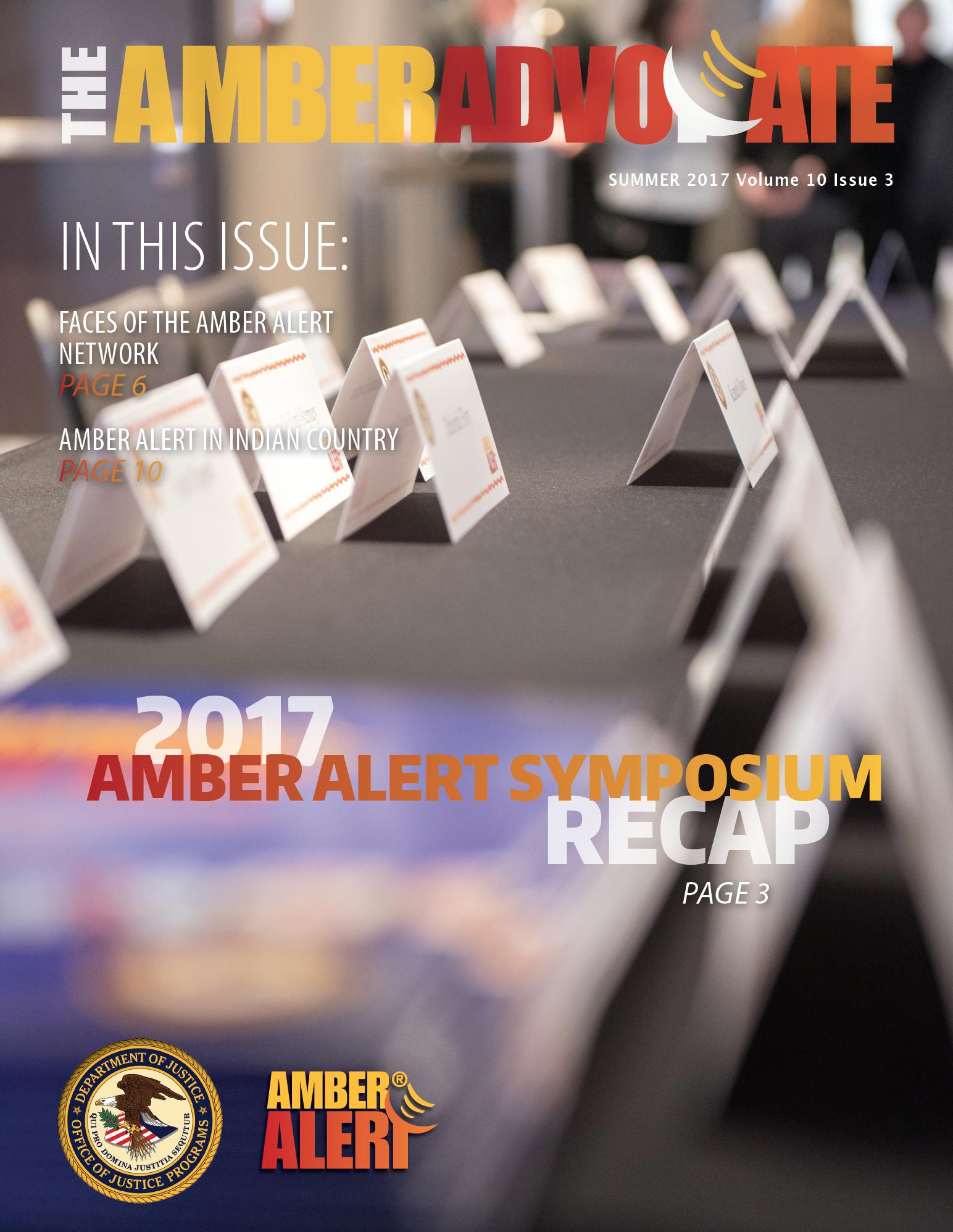 AMBER Advocate 31 cover